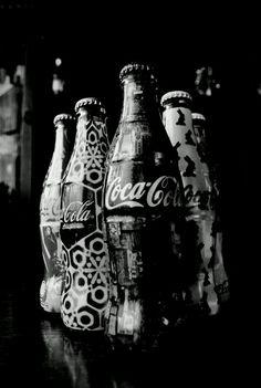Coca Cola bottles...