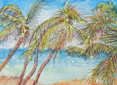 Blowing in the Wind Painting  - Blowing in the Wind Fine Art Print