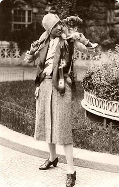 Josephine Baker styling flapper style