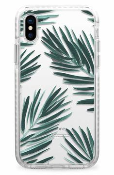 Casetify Palm Fronds iPhone X/Xs Case Iphone Cases Disney, Art Phone Cases, Diy Phone Case, Iphone Case Covers, Accessoires Iphone, Aesthetic Phone Case, Cute Cases, Coque Iphone, Usb