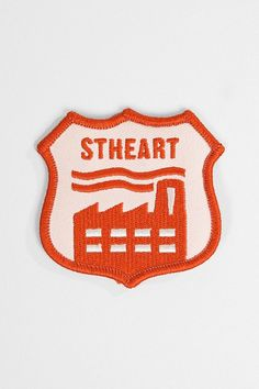 dope stheart patch