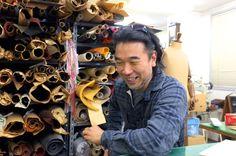 蔵前にお店を構える、革製品のお店「m+」の店主、村上さんは蔵前から他の地域へ規模を拡大している店には、蔵前が第一の拠点であると思ってもらえると嬉しいといいます。