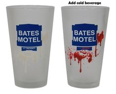 Bates Motel Color Changing Pint Glass
