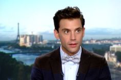 Mika interview @ JT20h on TF1 2014
