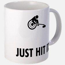 Wheelchair Curling Small Mugs for Curling, Coffee Mugs, Ceramics, Tableware, Ceramica, Pottery, Dinnerware, Coffee Cups, Tablewares