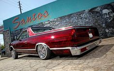 Candy Red Lowrider, El Camino