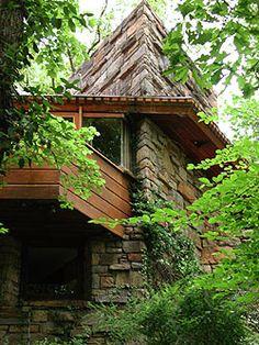 Roland Reisley Residence. Mount Pleasant, New York. Usonian Style. Frank Lloyd Wright. 1951