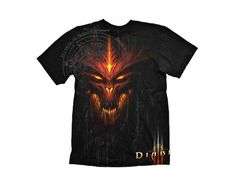 DIABLO III Special Edition T-Shirt Black (XL) All T-Shirts are made from high quality 100% pre-shrunk cotton for a long lasting fit even after being washed several times. All Artwork are original designs and printed using a very durable silk scre http://www.MightGet.com/march-2017-1/diablo-iii-special-edition-t-shirt-black-xl-.asp