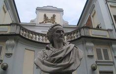 Profezia privata | Imparare a bottega (1) - Busto di Vittorio Alfieri, Asti, Palazzo Alfieri