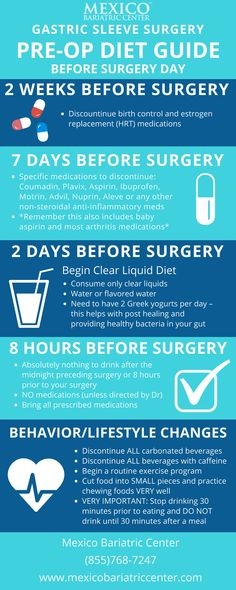 Gastric Sleeve Surgery is a bariatric procedure that removes up to of the stomach creating restriction. Pre Bariatric Surgery Diet, Vsg Surgery, Bariatric Eating, Weight Loss Surgery, Gastric Bypass Surgery, Bariatric Sleeve Surgery, Bariatric Recipes, Keto Recipes, Pre Gastric Sleeve Diet