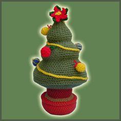 Christmas Tree - Amigurumi Pattern by DeliciousCrochet by DeliciousCrochet, via Flickr