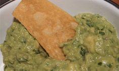 Skinny Guacamole - Weight Watchers | The Slender Kitchen