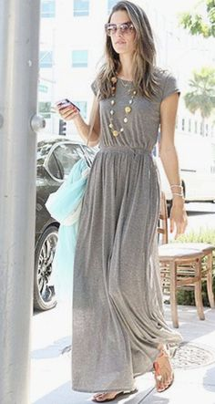 I love the maxi dress but I'm so short!!! Definitely need something in a shorter\/three quarter length or a petite!