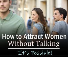 You don't really have to say a word before you attract a lady. In fact, before getting to talk to her, she will probably have decided whether or not to talk to you just by looking at you. Love Language Physical Touch, Body Language Attraction, Attraction Facts, How To Be Irresistible, Self Confidence Tips, Text For Her, Dating Tips For Men, Love And Lust, Psychology Facts