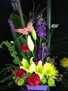 Contemporary Design Rose Garden Florist Paducah Kentucky Fresh Mixture