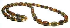 Murano Glass Beaded Necklace  Vintage Necklaces  by SwankyJewels - 28 euro