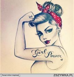 It wouldn't say girl power, but I like this.  :-) a lot.