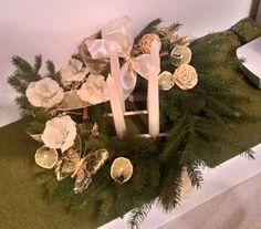 Advent wreath, lemon, adventny veniec