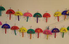 Ομπρέλα με χάρτινο πιάτο