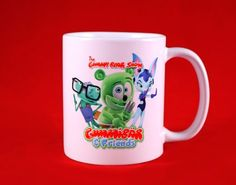 New Product: Limited Edition: Gummibär & Friends Mug Shops, Friend Mugs, Etsy Shop, Gummy Bears, New Product, Your Favorite, Friends, Unique Jewelry, Tableware