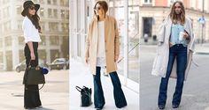 С чем носить джинсы клеш в повседневной жизни