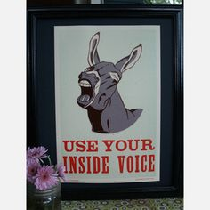 Use Your Inside Voice Print  by Caleb Pritchett & Christie Turk  (need)