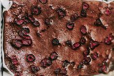 Sweet Potato Choc Berry Brownie #justeatrealfood #realfoodpledge
