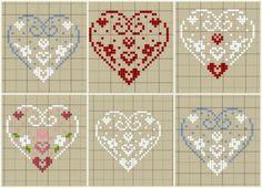 Brilliant Cross Stitch Embroidery Tips Ideas. Mesmerizing Cross Stitch Embroidery Tips Ideas. Xmas Cross Stitch, Cross Stitch Heart, Cross Stitch Samplers, Cross Stitching, Embroidery Hearts, Cross Stitch Embroidery, Embroidery Patterns, Cross Stitch Designs, Cross Stitch Patterns