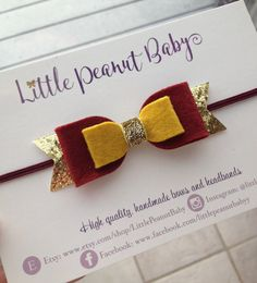 Harry Potter Inspired Bow