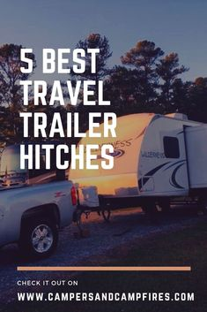 Do you own a travel trailer? Then you know that hitch selection is an important safety concern. Learn about the safest weight distribution hitches. Hiking Tips, Camping And Hiking, Camping With Kids, Travel With Kids, Camping Ideas, Family Camping, Camping Hacks, Best Travel Trailers, Travel Trailer Camping