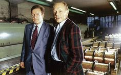 Peter und Max Dätwyler (ca. 1987).  Bild aus «Die Kraft der unscheinbaren Dinge. 100 Jahre Dätwyler», erschienen im Verlag NZZ Libro. (Foto Alberto Venzago)