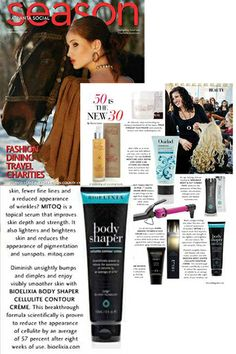 #BioElixia #BodyShaper Cellulite Contour Creme featured in Winter 2014 edition of Atlanta Social Season Magazine!