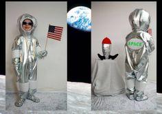 Eva vandt 500,- i uge 8 med dette kostume! Eva Christensen Casper på 6 år som astronaut.
