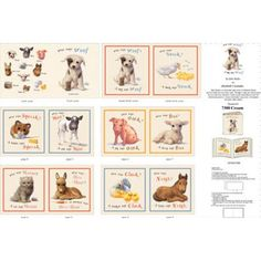 Who Says Woof Baby Animals Storybook Panel