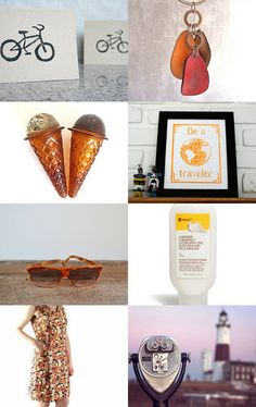 Summer Fun by Laura Barker on Etsy--Pinned with TreasuryPin.com