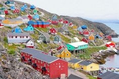 Greenland - Nuuk I'm so close to you right now...why are you such a wild country ?!