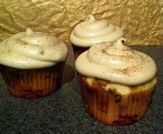 Cinnamon-Swirl Cupcake
