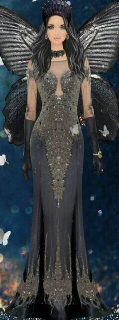 """Covet Fashion Game """"Fallen Butterfly"""" Challenge ♕DiamondB! Styled  & Pinned♕"""