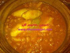 خوراک لوبیا چیتی (لوبیا پخته)