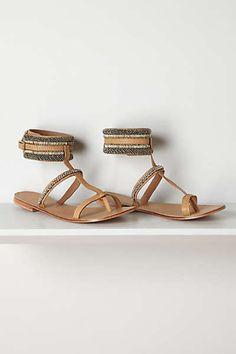 Anthropologie - Pincuff Sandals