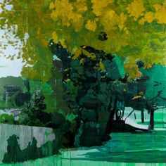 Hurvin Anderson | Hurvin Anderson: Siding, 2013 oil on linen. © the artist and Thomas ...