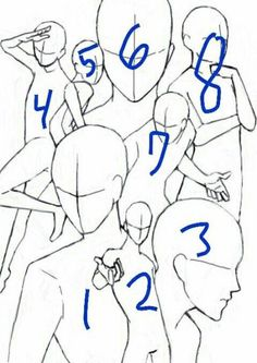 Draw the squad 8 Drawing Skills, Drawing Sketches, Cool Drawings, Manga Drawing, Friends Sketch, Drawings Of Friends, Drawing Base, Figure Drawing, Anime Group Of Friends