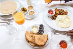 Breakfast at the Heathman, Portland | Elsa Brobbey