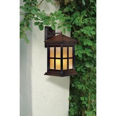 From Minka, this outdoor light features an Arts and Crafts style. From the Minka Lavery lighting collection. Style # 31048 at Lamps Plus. Craftsman Outdoor Lighting, Outdoor Wall Lighting, High Art, Minka, Solid Brass, Lamps, Wall Lights, Glow, Arts And Crafts