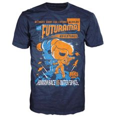 Futurama Adventures Pop! Tees! T-Shirt