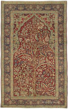16 Best Antique Rugs With A Tree Of Life Theme Images Oriental Rug