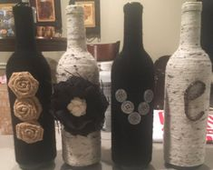 Love Wine Bottle Decor