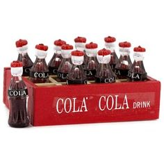 Mayberry Street Red Crate of Soda | Shop Hobby Lobby