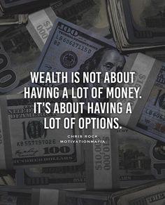 Mo' money mo' options. #motivationmafia by motivationmafia