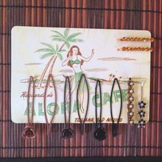 Hairpins on Postcard